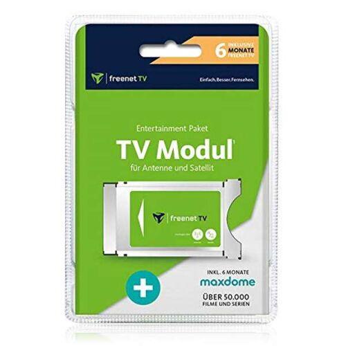 Freenet TV HD CI+ Modul für DVB-T2 HD 6 Monate Freenet TV & Maxdome