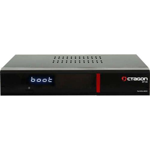 Octagon SF138 HD E2 Linux Red HDTV LAN CI DVB-C/T2 Receiver