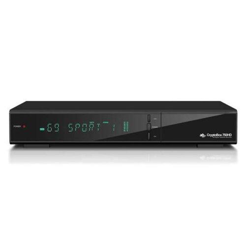 AB-COM AB CryptoBox 750HD Full HD Sat HEVC H.265 HDTV USB LAN Live-Streaming Receiver