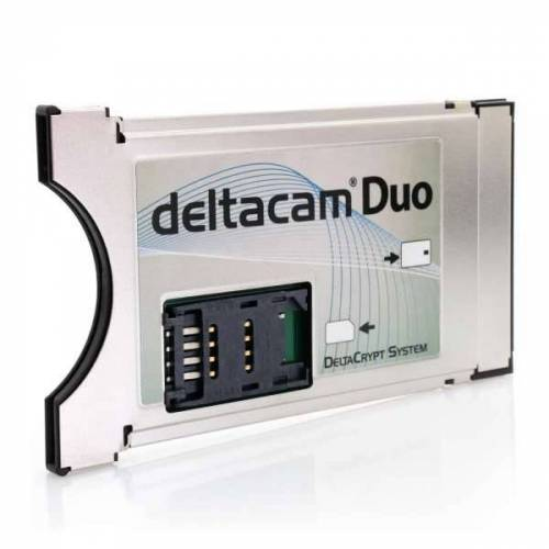 Deltacam Duo Twin CI Modul mit DeltaCrypt-Verschlüsselung 3.0 - Neue Hardware