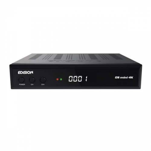 Edision OS Mini 4K UHD 1xDVB-S2X E2 Linux HbbTV HEVC LAN USB UHD Sat Receiver