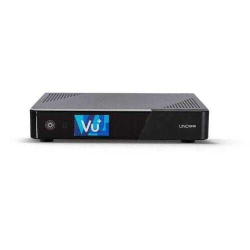 VU+ Uno 4K SE 1x DVB-S2X FBC Twin Tuner Linux UHD 2160p Receiver 2TB