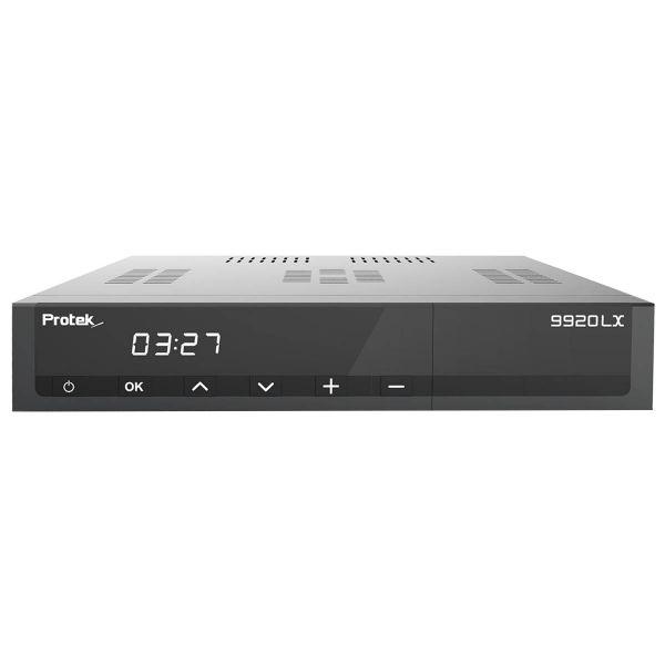 Protek 9920 LX E2 Linux Full HD 1080p HEVC H.265 TV IP Receiver Schwarz 1x DVB-S2