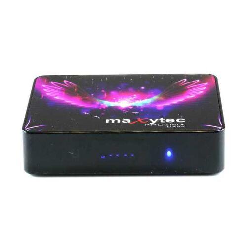 Maxytec Phönix Dark 8K UHD Android 9.1 Mediaplayer 5GHz Wlan IPTV Box Schwarz
