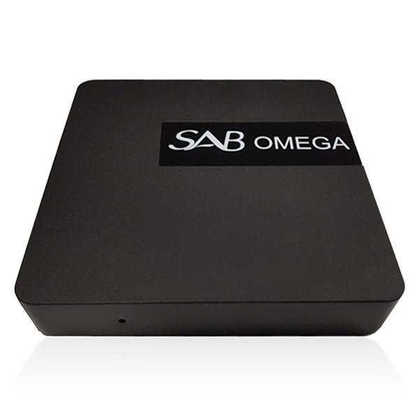 SAB Omega 4K UHD H.265 HEVC WLAN Android 6.0 TV IP Mediaplayer Schwarz