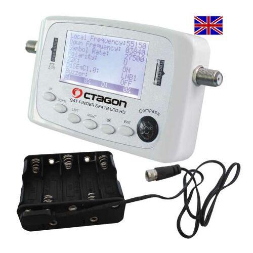 Octagon SF 418 LCD HD Satfinder+ Batterie Pack Engl. Menü