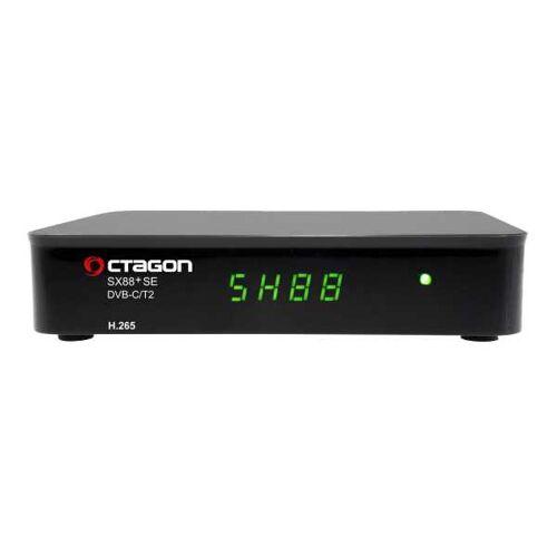 Octagon SX88+ SE H.265 HD Full HD DVB-C/T2 Hybrid Tuner+TV IP Receiver
