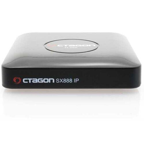 Octagon SX888 IP HEVC Full HD LAN USB H.265 TV IP m3u VOD Multimedia Box Wlan Stick