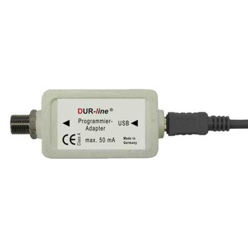 Dur-Line Programmieradapter für programmierbare Unicable Antennendosen