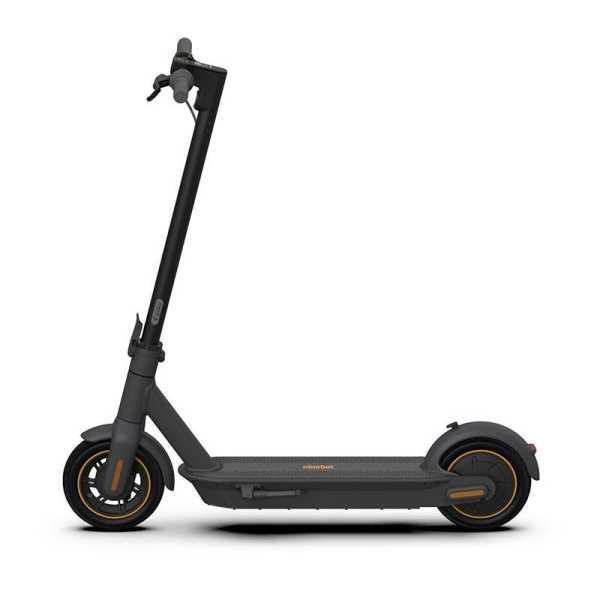 Segway Ninebot Segway MAX G30 Electric Scooter ohne Straßenzulassung Max. 25km/h 350W bis zu 65km Schwarz
