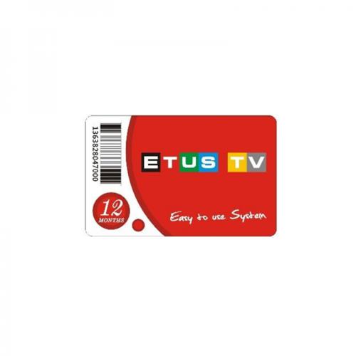 ETUS TV Abo Verlängerung für 12 Monate Laufzeit