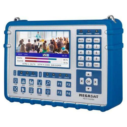 MegaSat Sat Messgerät HD 5 Combo OLED DVB-S2/S2X/C/T2 Sat-/Kabel-/DVB-T2 Multistream Finder