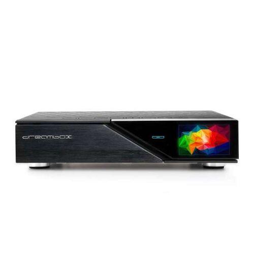 DreamBox DM920 UHD 4K 2160p E2 Linux HbbTV PVR Receiver Schwarz 1x DVB-C/T2 Dual