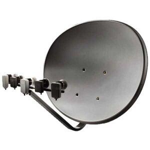 Maximum T 85 E85 Multifocus Multifeed Antenne Sat Schüssel Anthrazit