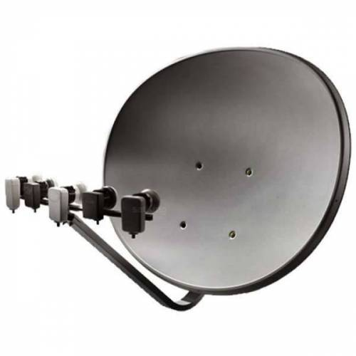 Maximum T 85 E85 Multifocus Multifeed Antenne Sat Schüssel Anthrazit