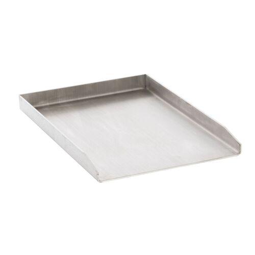 CLP Grillplatte Edelstahl-edelstahl-30x45x3,6 cm