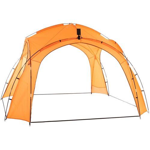 CLP Partyzelt 3,5 x 3,5 m-orange