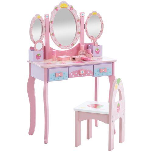 CLP Kinder Schminktisch Emilia-pink