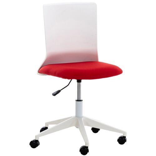 CLP Bürostuhl Apolda-rot-Stoff