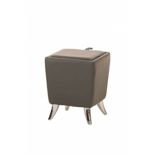 CLP Sitzhocker Roxy-grau