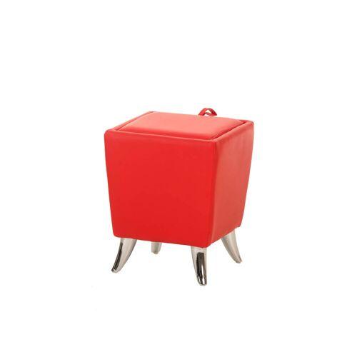 CLP Sitzhocker Roxy-rot