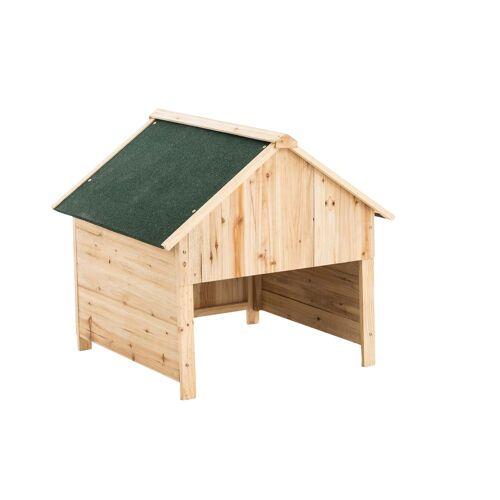 CLP Holzgarage für Rasenroboter-grün