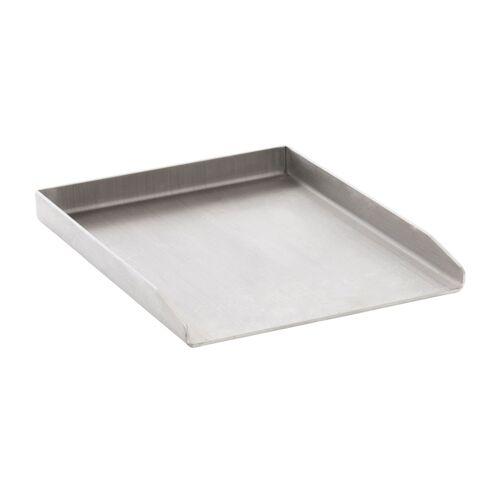 CLP Grillplatte Edelstahl-edelstahl-30x40x3,6 cm