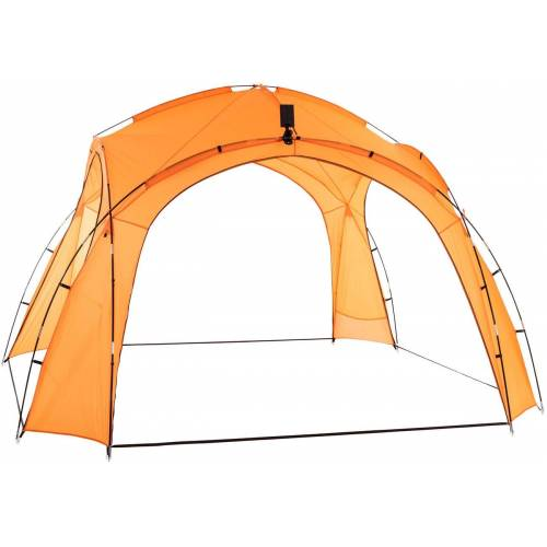 CLP Partyzelt 3,5 x 3,5 m-orange