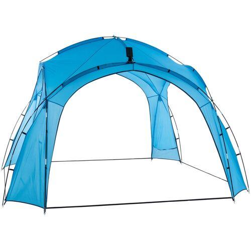 CLP Partyzelt 3,5 x 3,5 m-blau