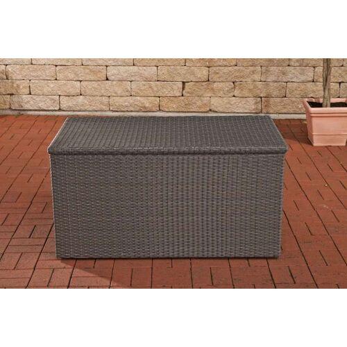 CLP Auflagenbox-grau/flach-M