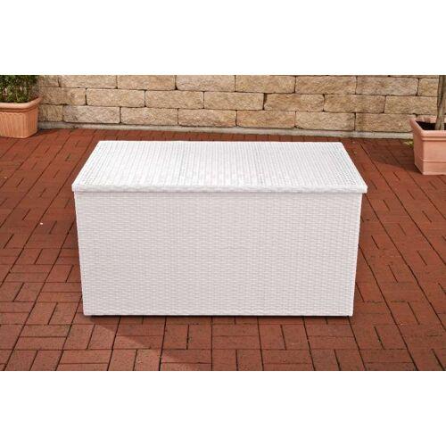 CLP Auflagenbox-weiß/flach-XL