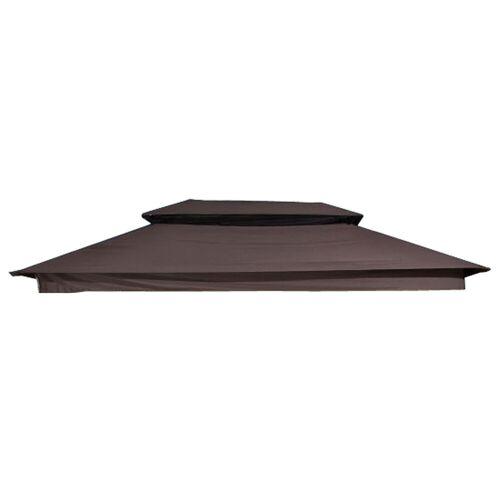 CLP Stoff-Dach für Kenia Hollywoodschaukel-braun