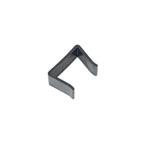 CLP Verbindungsklammer für flaches Rattan-schwarz