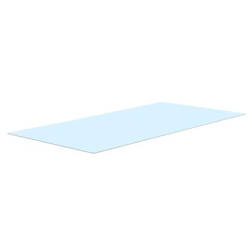 CLP Glasplatte Gartentisch Sandnes XL 256x109 cm-klarglas