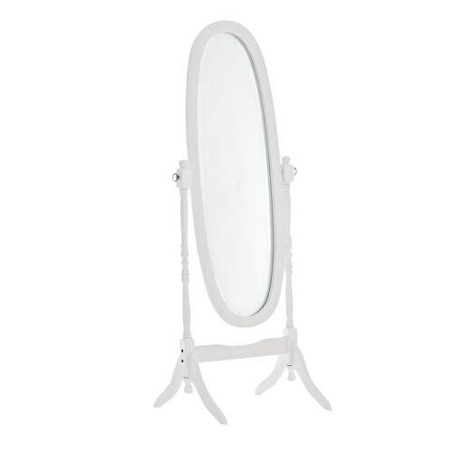CLP Standspiegel Cora oval-weiß