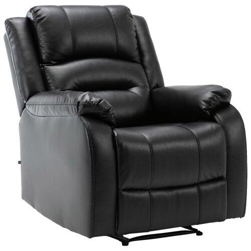 CLP Sessel Kerpen-schwarz-Echtleder