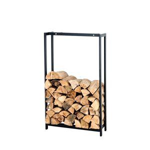 Bauwerk Manufacture Kaminholzständer Forest-schwarz/matt-100x70 cm