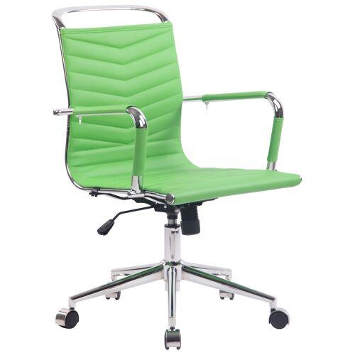 CLP Bürostuhl Burnley Kunstleder-grün