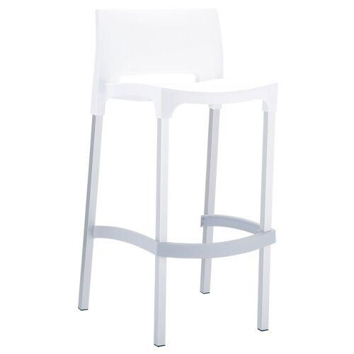 Siesta Outdoor Furniture Outdoor Barhocker GIO-weiß