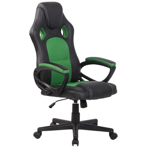 PAAL Office Furniture Sportsitz Racing Bürostuhl Fire-schwarz_grün