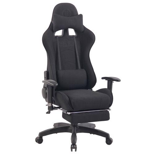 CLP Bürostuhl Turbo XFM Stoff mit Massagefunktion-schwarz/schwarz