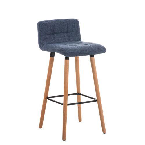 Larico Design Möbel Barhocker Lincoln Stoff-blau