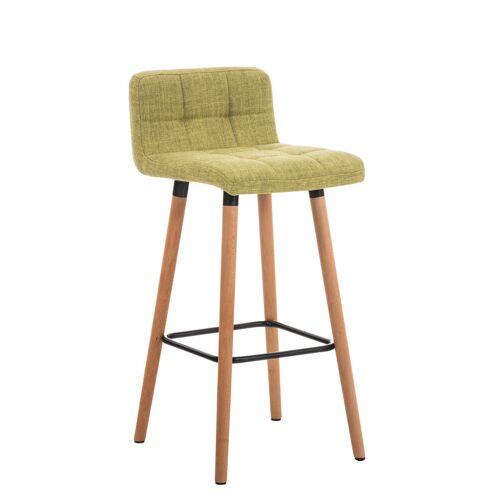 Larico Design Möbel Barhocker Lincoln Stoff-grün