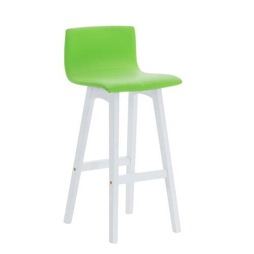 CLP Barhocker Taunus Kunstleder-grün-Weiß