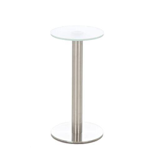 CLP Glastisch Marida-milchglas
