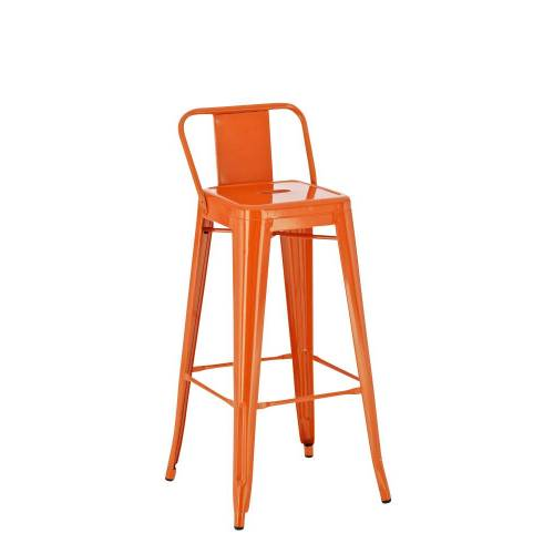 CLP Metall Barhocker Mason-orange