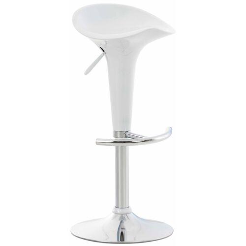 Larico Design Möbel Barhocker Saddle-weiß