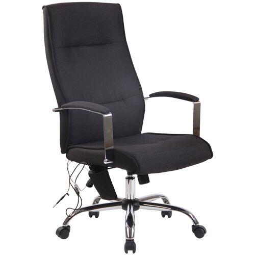 CLP Bürostuhl Portland mit Massagefunktion-schwarz-Stoff