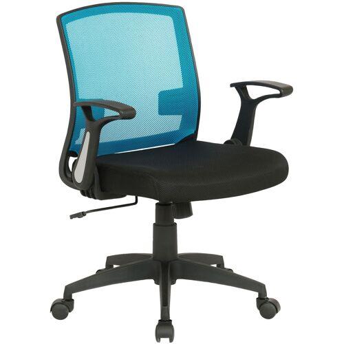 CLP Bürostuhl Renton-schwarz/blau