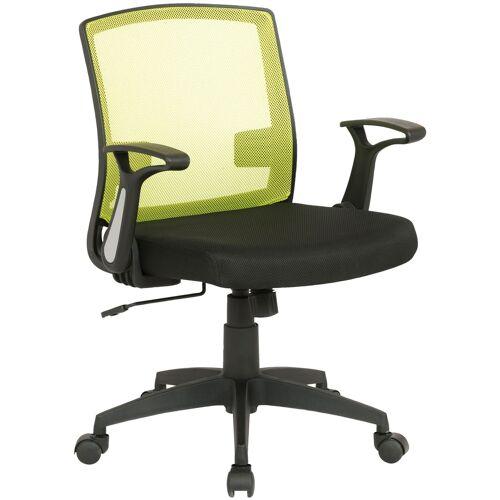 CLP Bürostuhl Renton-schwarz/grün